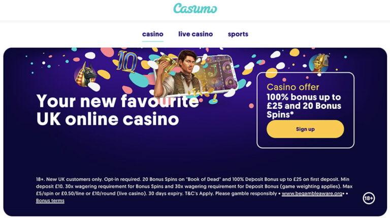 Casumo Casino Coupon Code